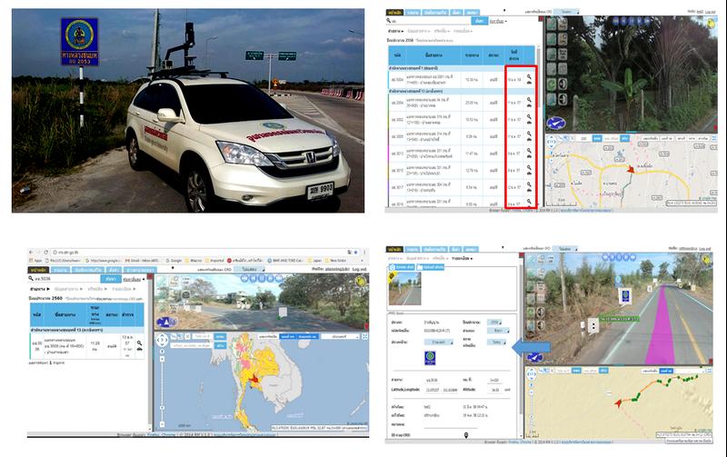 タイ地方道路局でも使われている(画像提供:岩根研究所)