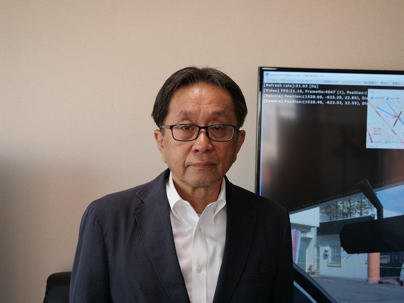 株式会社岩根研究所取締役副社長の鶴瀬隆一郎氏