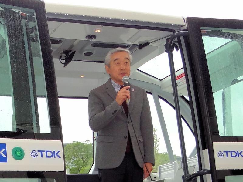 CEATECのエグゼクティブプロデューサー 鹿野 清氏。