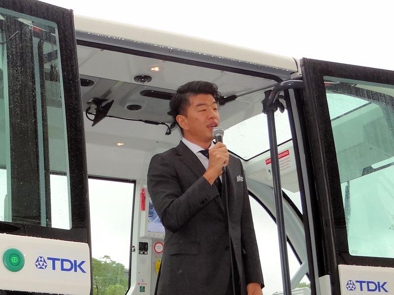 SBドライブ株式会社の代表取締役社長 兼 CEO、佐治 友基氏