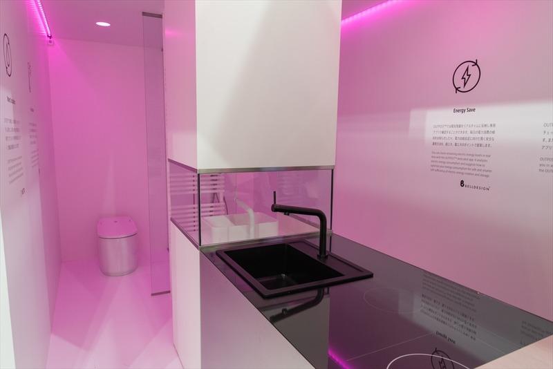 WOTA株式会社はすでにシャワールームや洗面台向けの水循環装置を実用化しているが、将来的にはキッチンやトイレの水循環も目指すとのこと