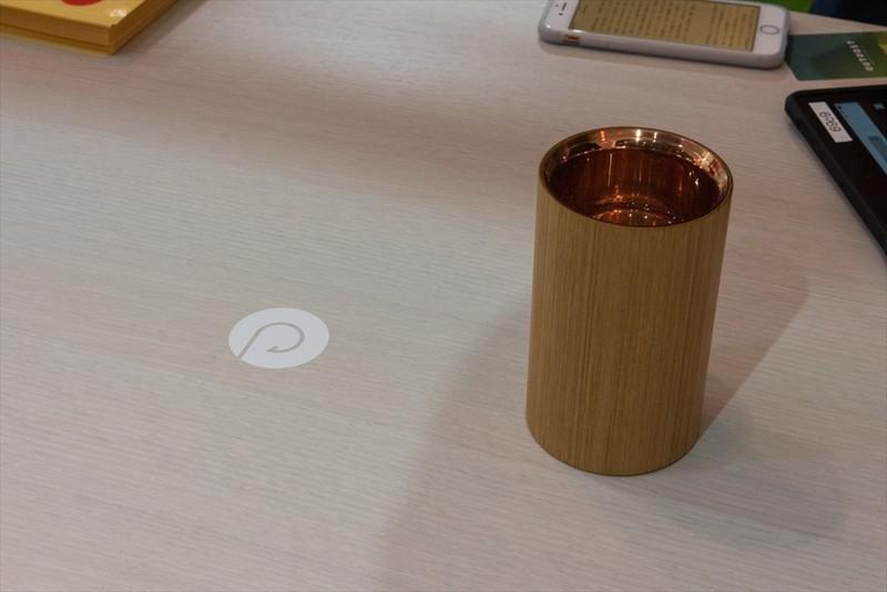 ベルデザイン株式会社のワイヤレス給電システムと、飲み物を好みの温度に調整できる「MUG」