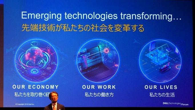 「先端技術が経済や働き方、生活などを変革する」