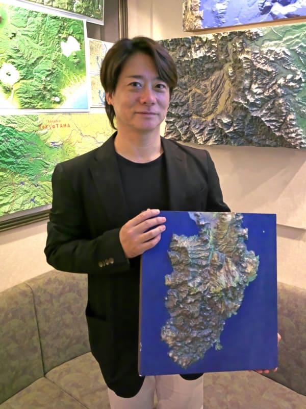 株式会社ニシムラ精密地形模型代表取締役の大道寺覚氏