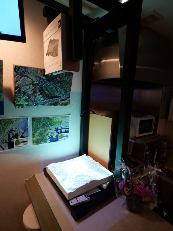 「関ヶ原の戦い」をシミュレーションしたプロジェクションマッピング