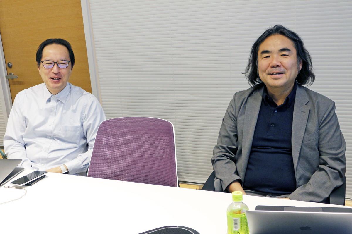 左より、株式会社インターネットイニシアティブの櫻庭秀次氏(ネットワーククラウド本部アプリケションサービス部担当部長)と株式会社TwoFive代表取締役の末政延浩氏
