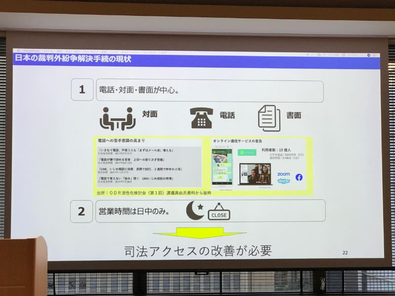 裁判外紛争解決手続きの日本における現状