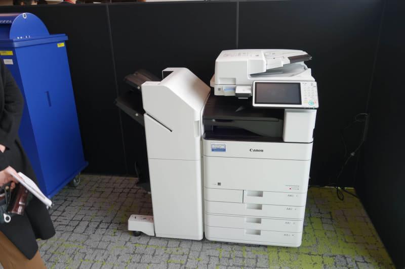 いちおうハードコピー機もある……が、台数はかなり少ない(というか1台しか見かけなかった)