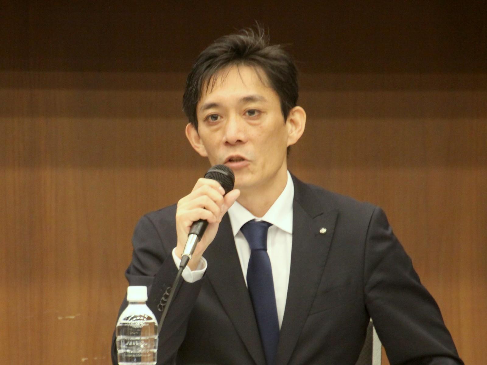 日本電子計算の神尾拓朗部長(公共事業部基盤サービス統括部)