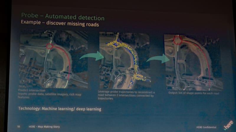 プローブデータから新規開通道路を検出