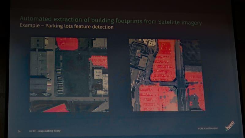 衛星写真をもとに駐車場の形状を検出