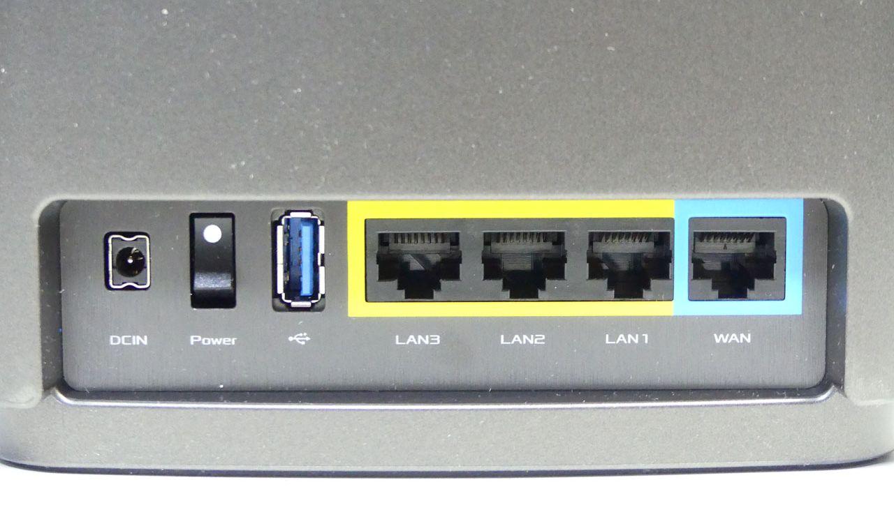 3つのLANポートには有線で端末を接続できるほか、ノード間のバックホール接続にも使える
