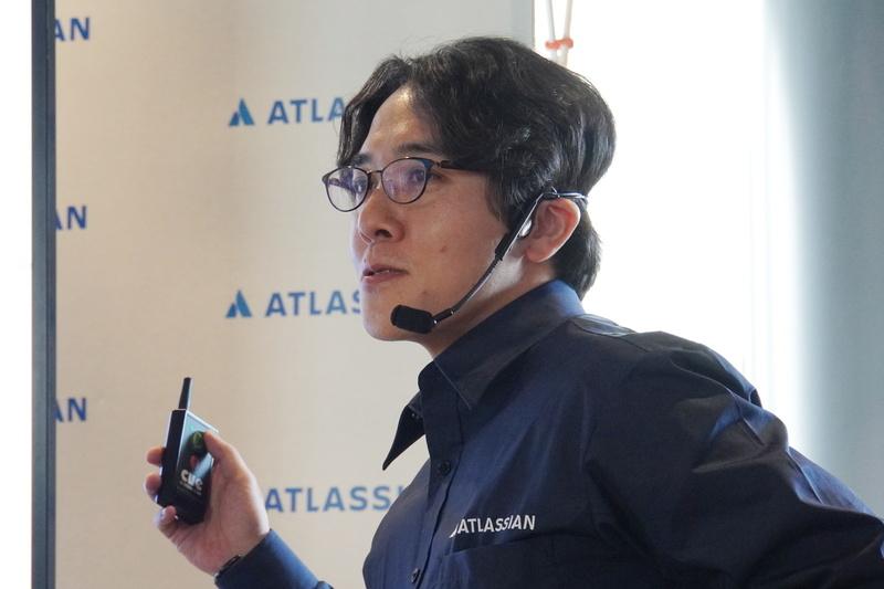 アトラシアン株式会社ソリューションエンジニアの皆川宜宏氏