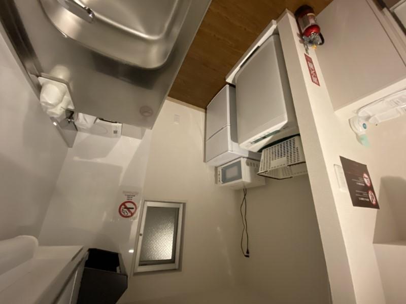 沖縄は洗濯機を室内に設置した物件が多く、コインランドリーなどに比べて小回りがきくほか、費用的にも安上がりで済む