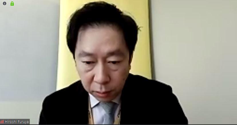 株式会社ノートンライフロックの古谷尋氏(マーケティング部部長)。なお、取材は昨今の状況を踏まえて電話会議ツール「Zoom」で実施された