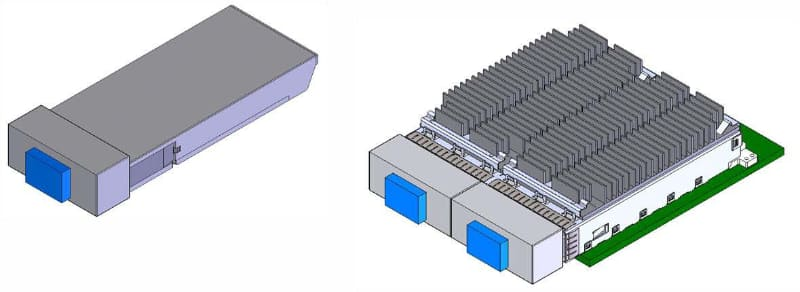 CFPと比べて大幅にスリム化された。出典はCFP2 Hardware Specification Revision 1.0のFigure 5-1