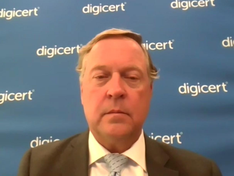 米DigiCert CEOのJohn Merrill氏