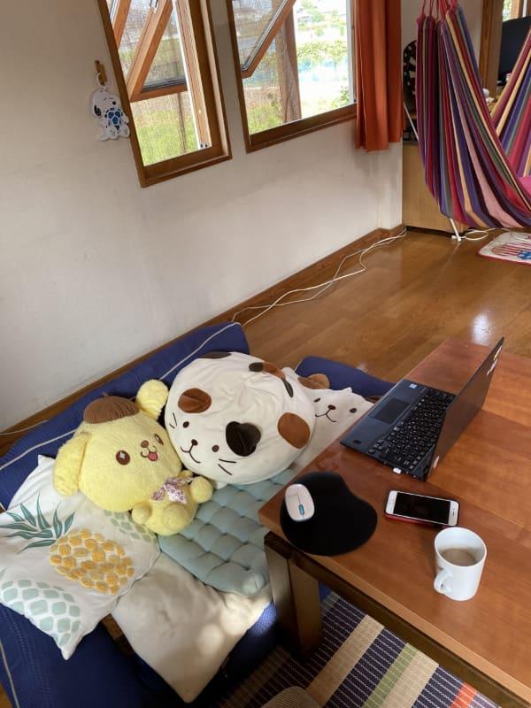 ノートPCとiPhoneがあればどこでも仕事できます