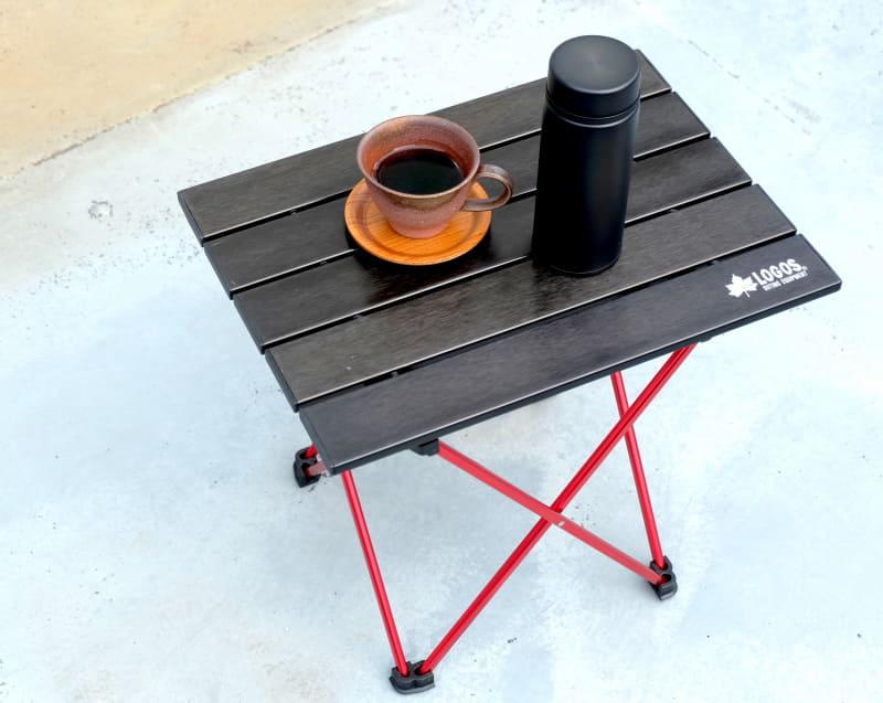 コーヒーカップは備前で見つけたもの。たいへん気に入っています