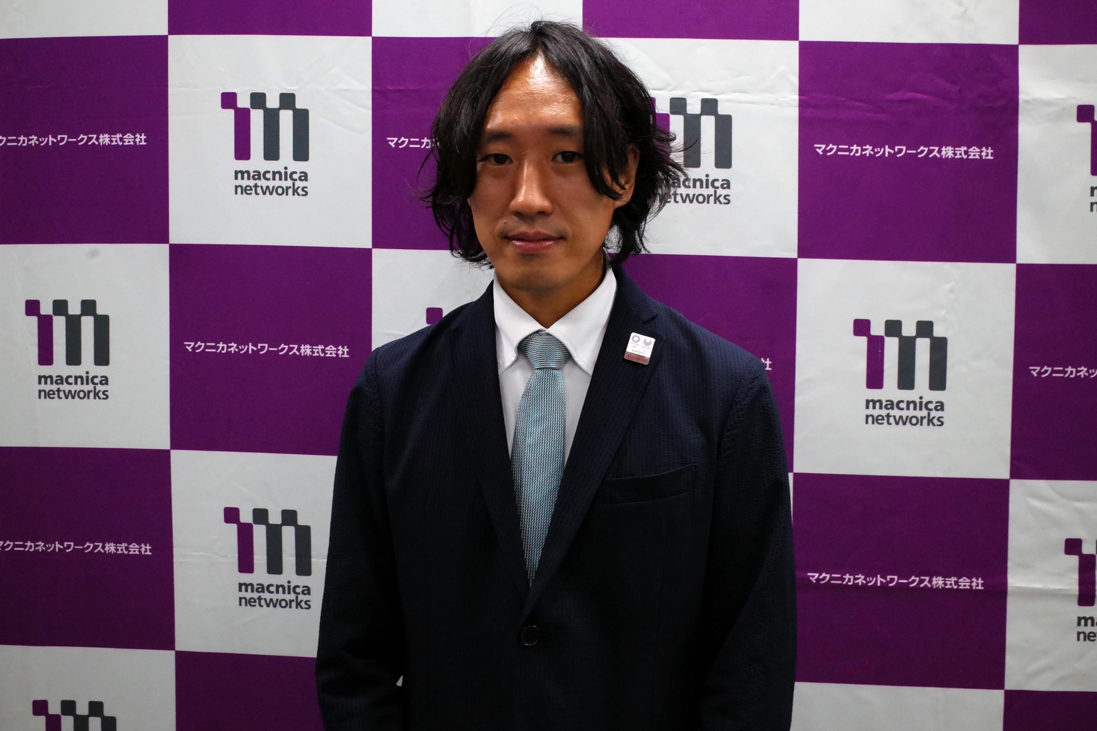 株式会社NTTドコモの田中威津馬氏(国際事業部イノベーション担当課長)