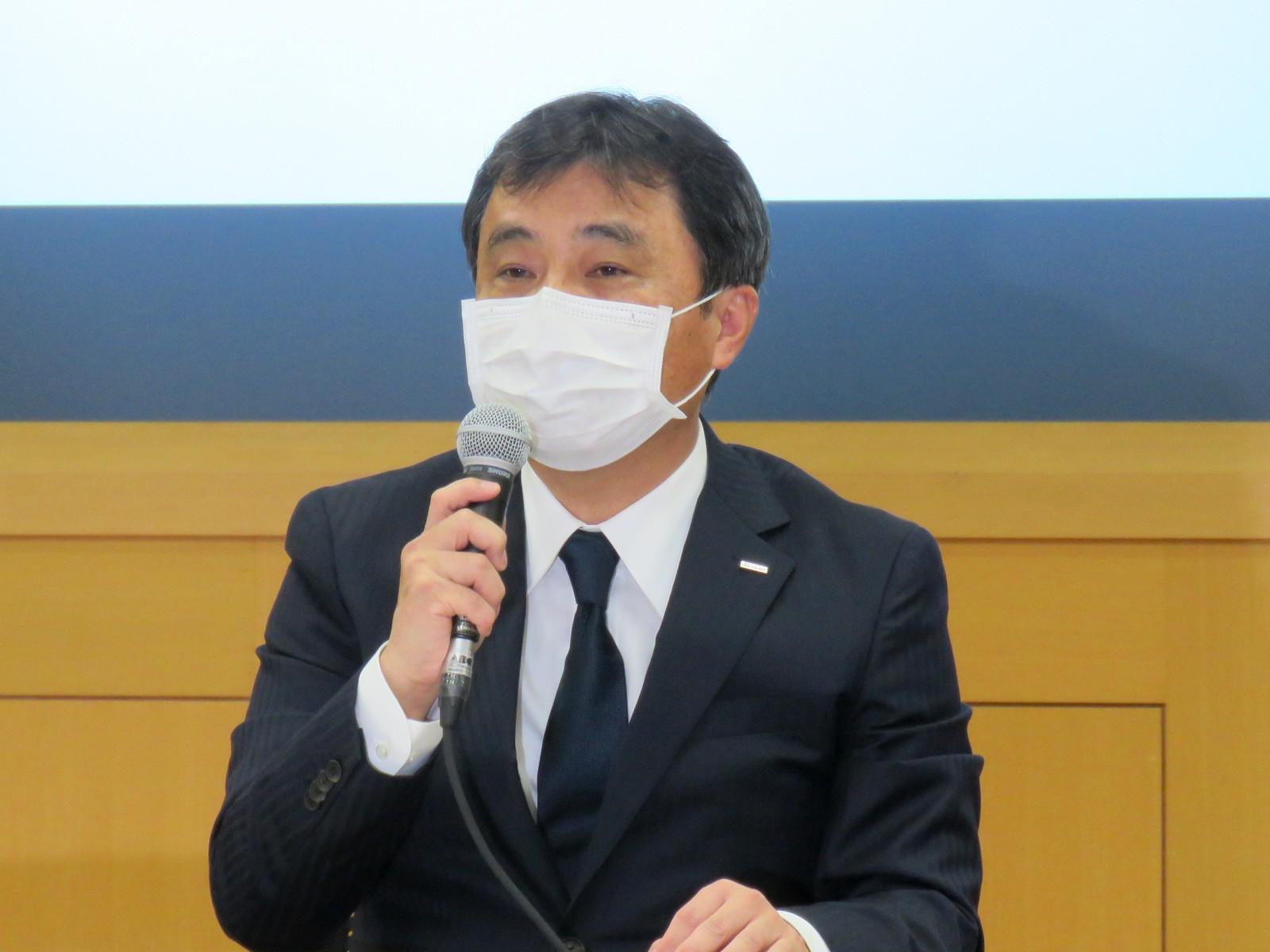 株式会社NTTドコモ代表取締役副社長の丸山誠治氏