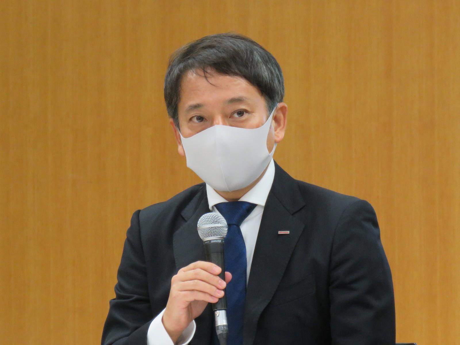 株式会社NTTドコモウォレットビジネス部長の田原務氏
