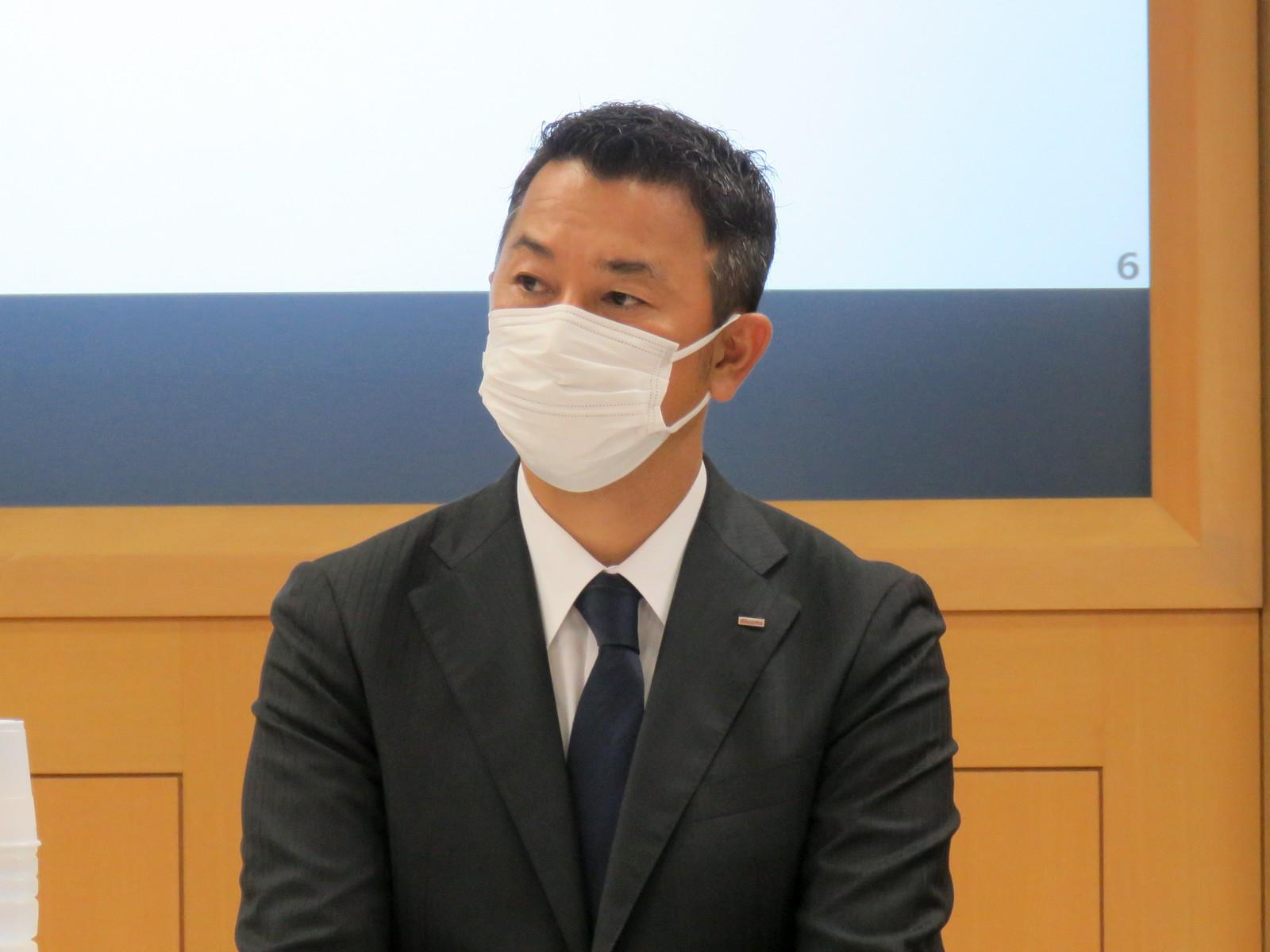 株式会社NTTドコモ常務執行役員マーケティングプラットフォーム本部長の前田義晃氏