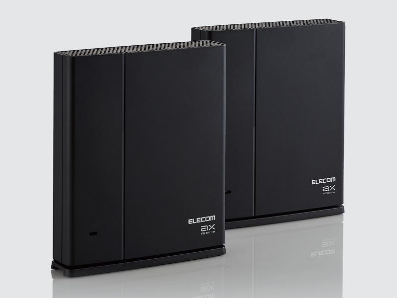 Wi-Fi 6ルーターと専用中継器各1台のセット「WMC-2LX-B」