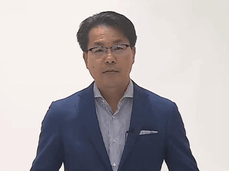 弥生株式会社の代表取締役社長の岡本浩一郎氏
