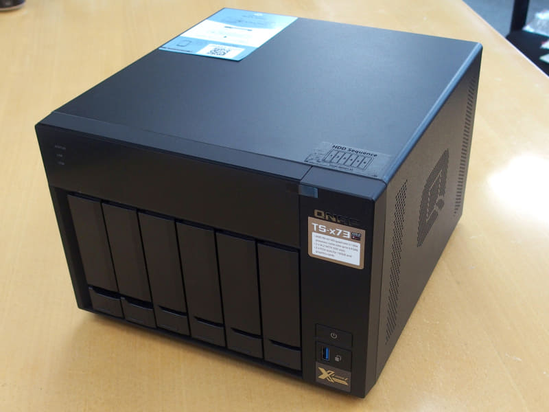 テックウインドが販売しているAXELBOXシリーズのSSD搭載NAS「AXEL-673/12TB」