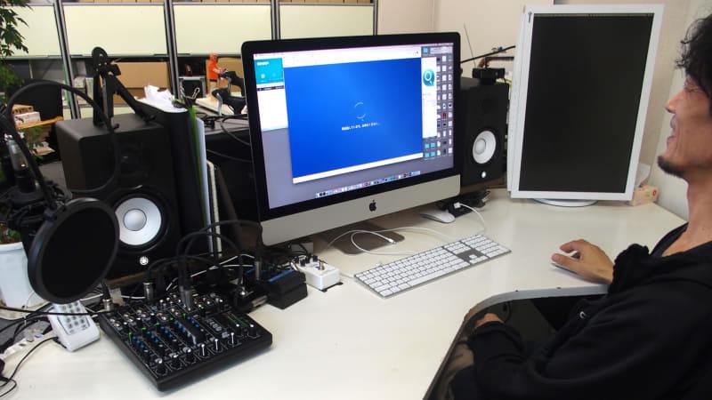iMacを中心としたワックスグラフィックスでの作業環境