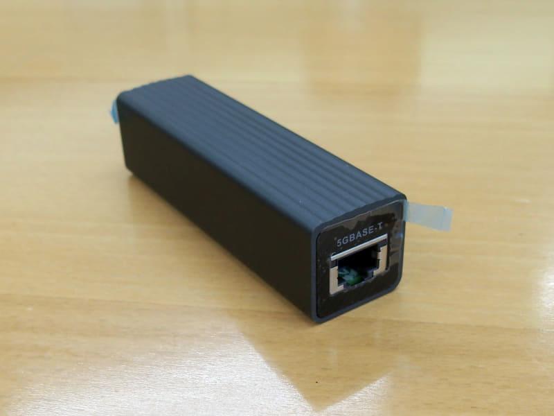 USB 3.0接続の5GBASE-Tアダプター「QNA-UC5G1T」