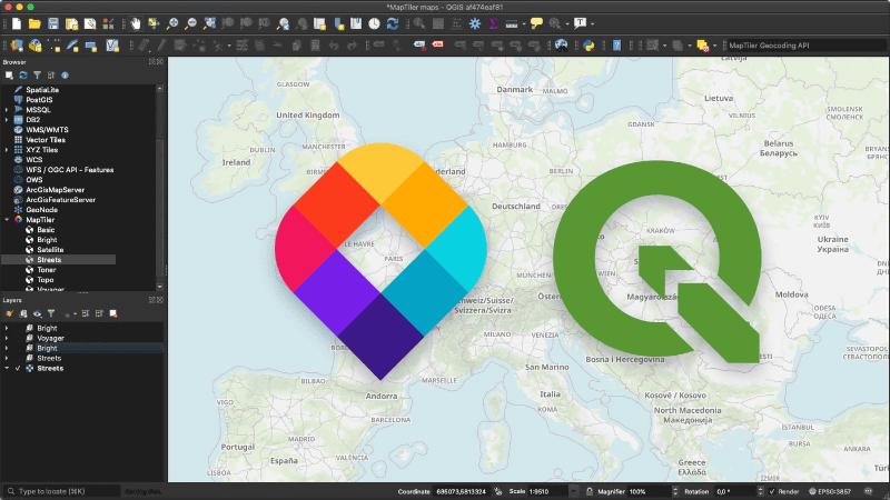 MapTilerと共同でQGIS用のプラグインを開発