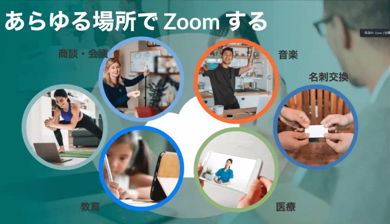 ビデオミーティング以外のZoom