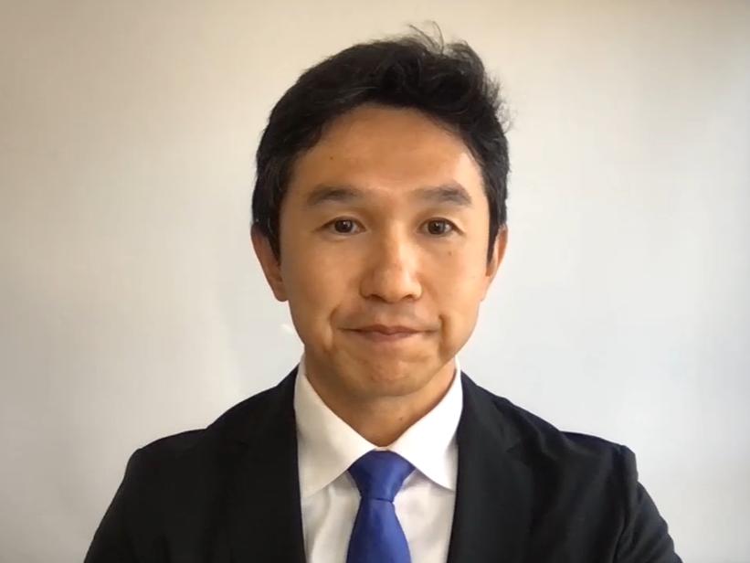 ブイキューブ 代表取締役社長の間下直晃氏