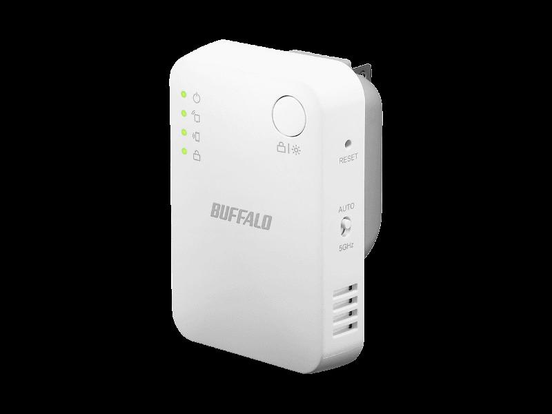 Wi-Fi中継機「WEX-1166DHPS/N」