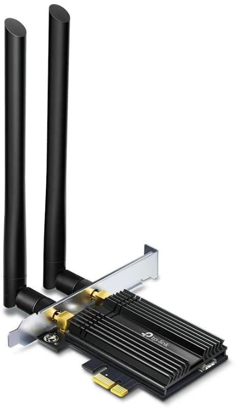 PCIe接続のWi-Fi 6対応アダプター「Archer TX50E」