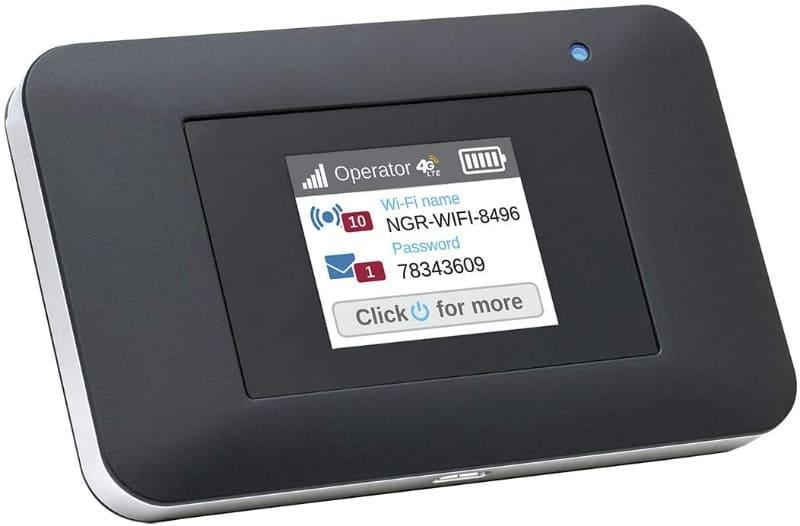 SIMフリーのモバイルルーター「AC797-100JPS」