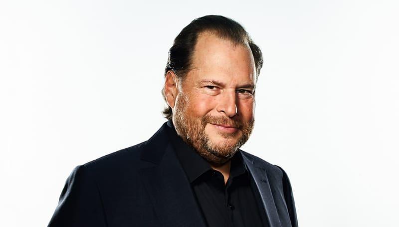米Salesforce.com会長兼CEOのマーク・ベニオフ氏