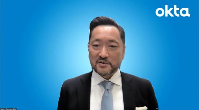 Okta Japan株式会社代表取締役社長の渡邉崇氏
