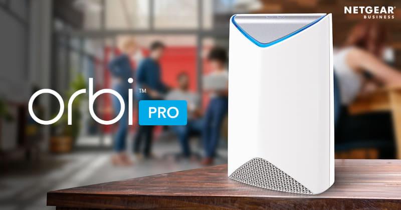 ビジネス向けトライバンドメッシュWiFi「Orbi Pro(SRK60)」2台セットが38%オフ