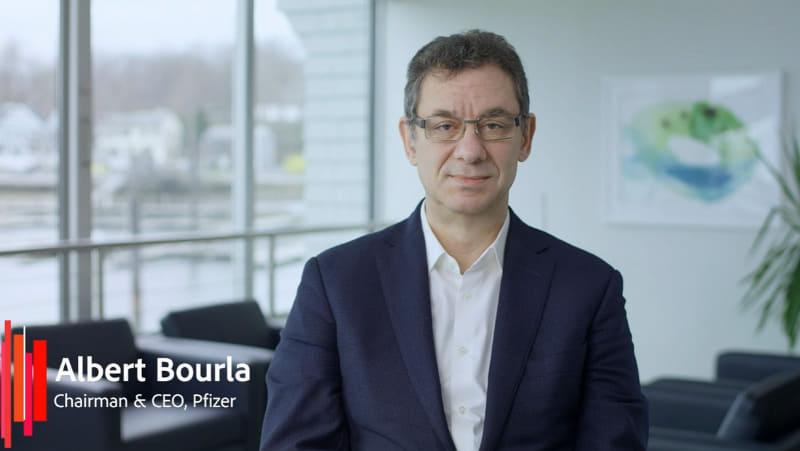 Pfizer CEOのアルバート・ブーラ氏