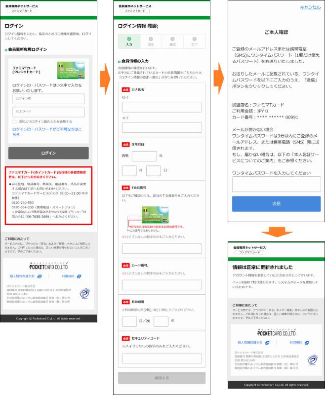 誘導先の偽サイトの画面(フィッシング対策協議会の公開情報より)