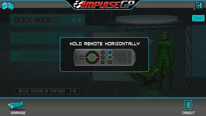 コントローラーは横にして操作する。間違えてホームボタンを押さないように注意 (C) EcoTorque Systems Inc.