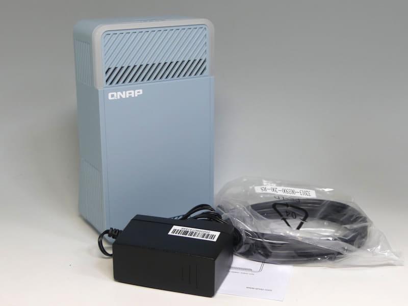 QNAPのトライバンドメッシュWi-Fiルーター「QMiro-201W」