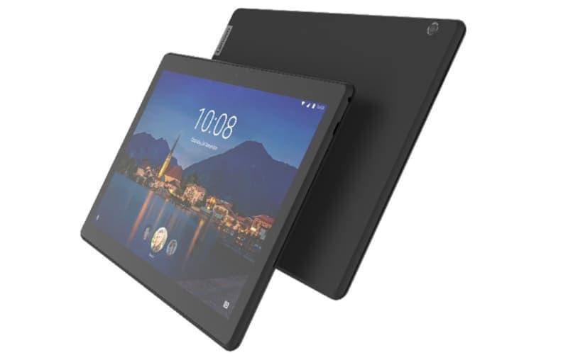 対象となるLenovo製法人向けタブレットの1つ「Lenovo Tab M10 HD」
