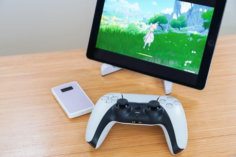 モバイルルーターとiPadを組み合わせて、リモートプレイを楽しんでみる