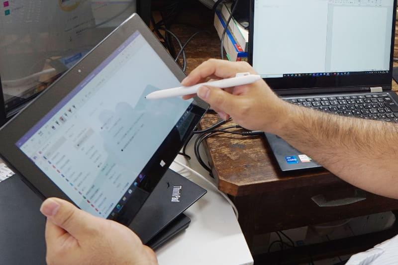 ペン対応PCをサブ機として利用中