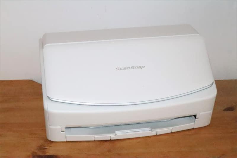 ドキュメントスキャナー「ScanSnap iX1500」(現在は、後継モデルの「ScanSnap iX1600」が販売されています)