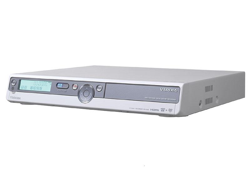 東芝のデジタル専用DVDレコーダー「RD-G503」